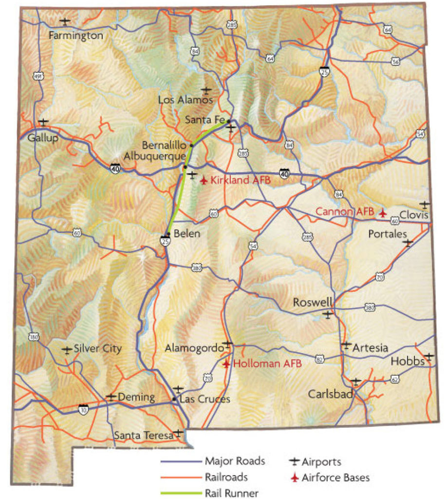 Traffic and transportation in New Mexico